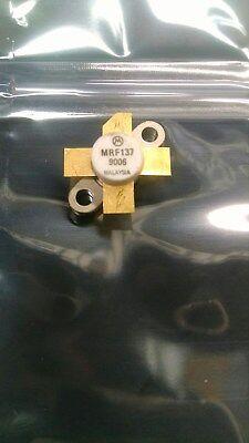 Nos Motorola Mrf137 400mhz 100w Mosfet Rf Power Transistor