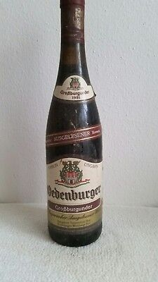 Rotwein Ungarn Sopron Großburgunder, Jahrgang 1981