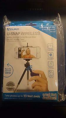 Aduro U Snap Universal Wireless Bluetooth Selfie Remote For Iphone Smartphone