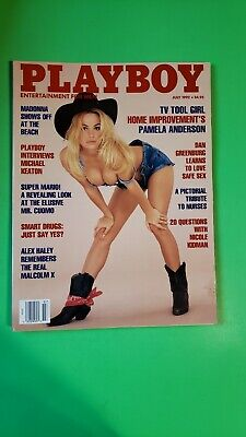 Playboy July 1992 Pam Anderson