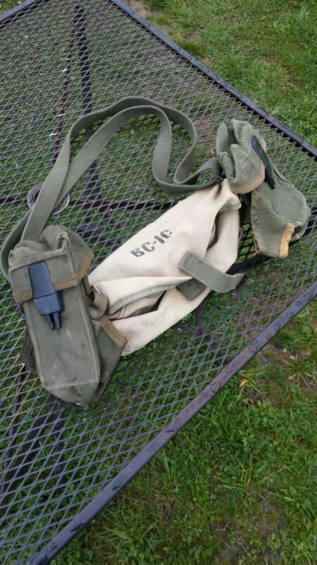 Vintage US Army Ammo Pouches