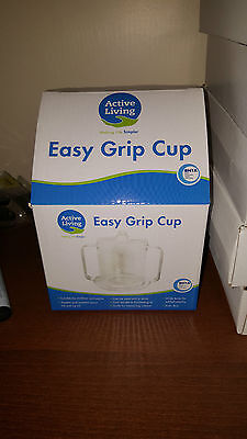 Easy Grip Cup (Active Living Easy Grip Cup - BNIB - Special offer inside)