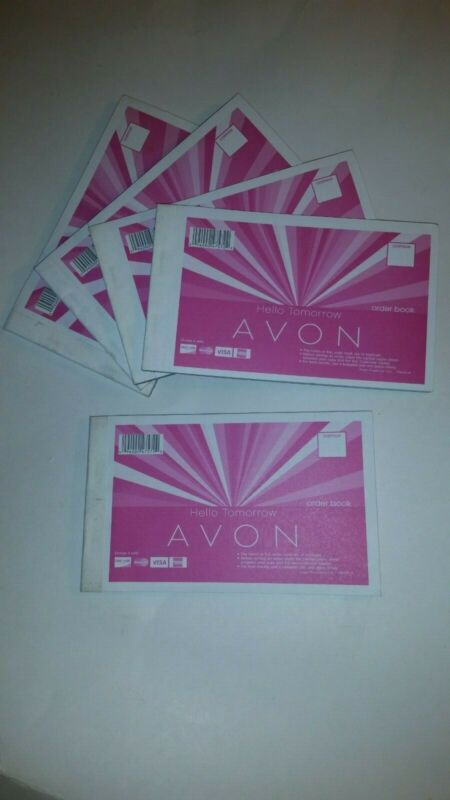 NEW AVON Order Book Receipt books - lot of 5