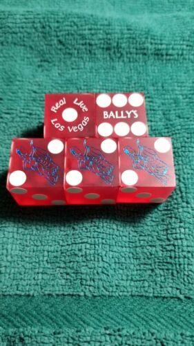 STICK OF BALLYS LAS VEGAS CASINO DICE  MATCHING#