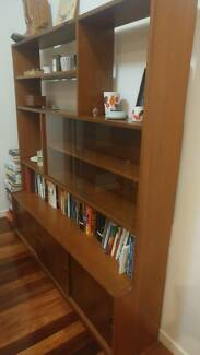 Retro Parker Era Bookshelf / Wall Unit