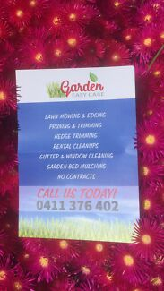 Rental and private garden Easycare cleanup