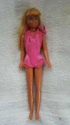 Vintage Mattel Barbie Little Sister Skipper Doll Blonde Malibu Tan 1967 Bend TNT