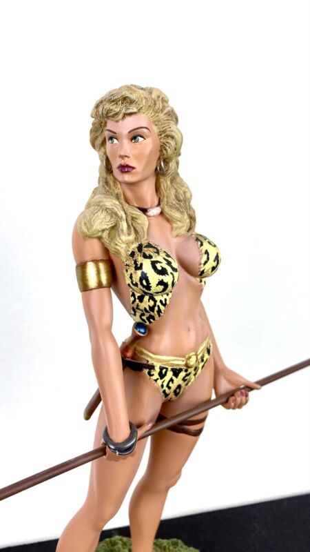 ULTRA RARE #69/25 Artist Proof Sheena Queen of the Jungle Statue ReelArt Studios
