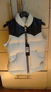 Moose knucles cream down vest half price!
