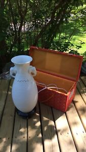 Decorative lamp with case