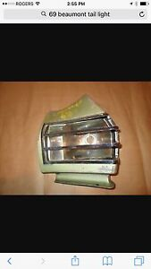 Looking for 69 Beaumont Drivers taillight housing