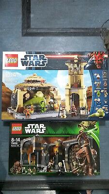 LEGO Star Wars Jabba's Palace 9516  & Rancor Pit 75005