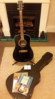 Magnum Dreadnought Steel String Acoustic / Electric Guitar