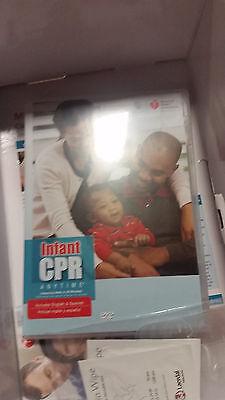 Laerdal Infant Cpr Anytime Case Of 10 Dark Skin Babylearning Manikin Kit New