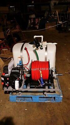 Skid Sprayer 100 Gl W Briggs 950cm Eng W Diaphram Pump 250 12 Hse Reel