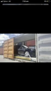 FASTEST INTERSTATE OVERSIZED CAR TRANSPORT CONTAINERISED PER-SYD 5DAYS