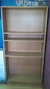 Book shelf (2 in total) and glass cabinet Galston Hornsby Area Preview