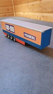 Corgi model trucks 1:50 scale CODE 3 IRON BREW CURTAINSIDE TRAILER