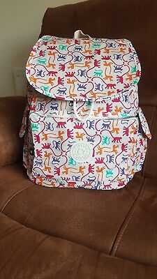 *RARE* Kipling City Rucksack/Backpack Monkey Mania BNWOT