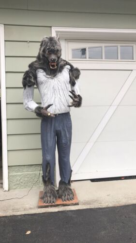 Life Size Halloween Werewolf Animated 2002 Gag Studios PICK UP ONLY
