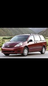 WANTED: 2007 and above Toyota Sienna