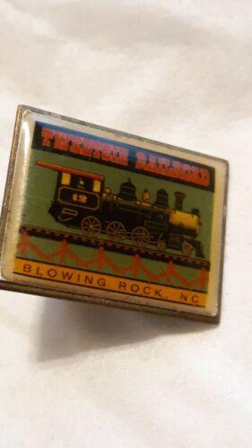 Vintage Tweetsie Railroad Pin, Blowing Rock, NC