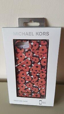 Michael Kors iPhone 7/8 Handy Hülle Snap-on Case, Neu+Etikett  Handy Snap Case