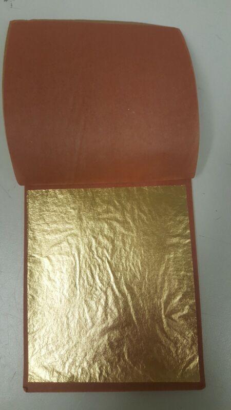 XX loose Gold Leaf 25 sht book