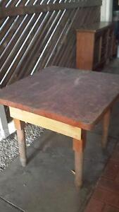 Solid Pine Table - Good for BBQ, shed or garden/work area Glengowrie Marion Area Preview