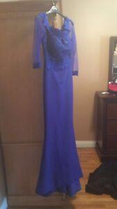 Long mermaid dress