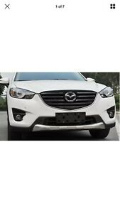 2013-2016 Mazda CX-5 stainless steel bumper guard kit