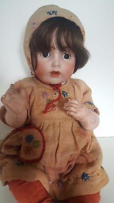 Alt J.D.K. Kestner Puppe 257 Germany 42 cm Doll um 1915 Biskuitporzellan Bisque