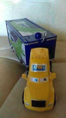 Disney Pixar Cars Diecast Rare Piston Cup #64 RPM Semi Cab #11 Combuster Hauler