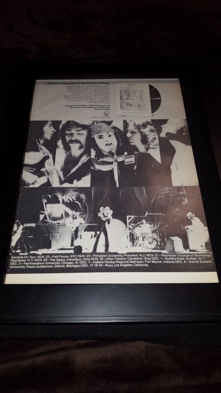 Genesis Selling England By The Pound Rare Original Tour Promo Poster Ad Famed!