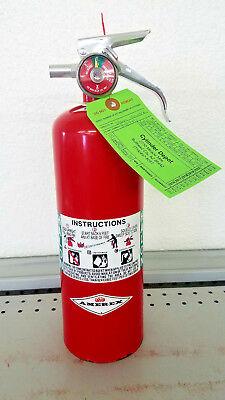 Halon 1211 5lb Halon Fire Extinguisher - Amerex - New Tag -