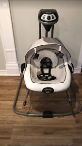 Graco duo swing and vibrate chair