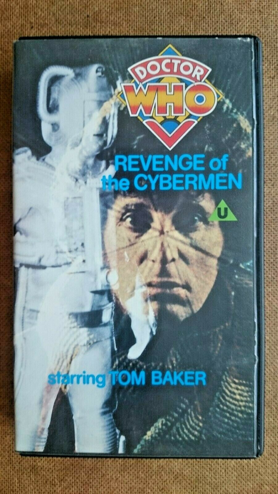 Doctor Who Revenge of the Cybermen. (VHS  BLUE LABEL 1983)