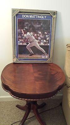 (NY Yankees Don Mattingly 16x20 Photo FRAMED )