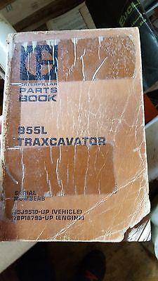Caterpillar 955l Traxcavator Parts Book