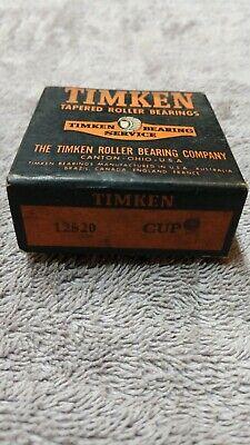 Nos Timken 12520 Tapered Roller Bearing Cup
