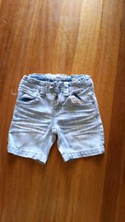 Industrie boys denim shorts