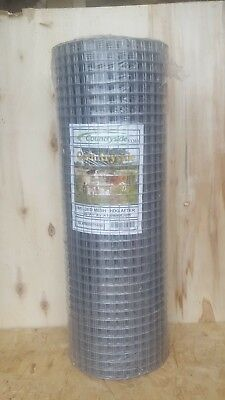 Aviary/Bird/Poultry/Rabbit Galvanised Wire Mesh Roll 1