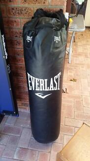 everlast boxing bag with chains