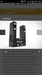 Harman and logan speakers Westminster Stirling Area Preview