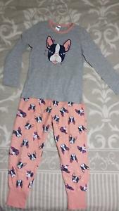 Girls Winter Pyjama's - Size 7 Tanah Merah Logan Area Preview