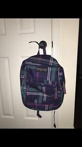 Teal/purple JANSPORT backpack