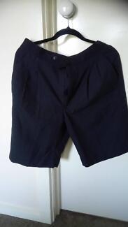 Dark blue navy school shorts