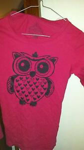 Size 10 Girls Owl Tee Bassendean Bassendean Area Preview