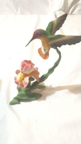 Porcelain Hummingbird Figurine