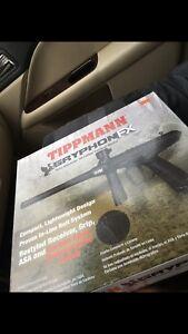 Tippmann gryphon FX paintball gun & attachments